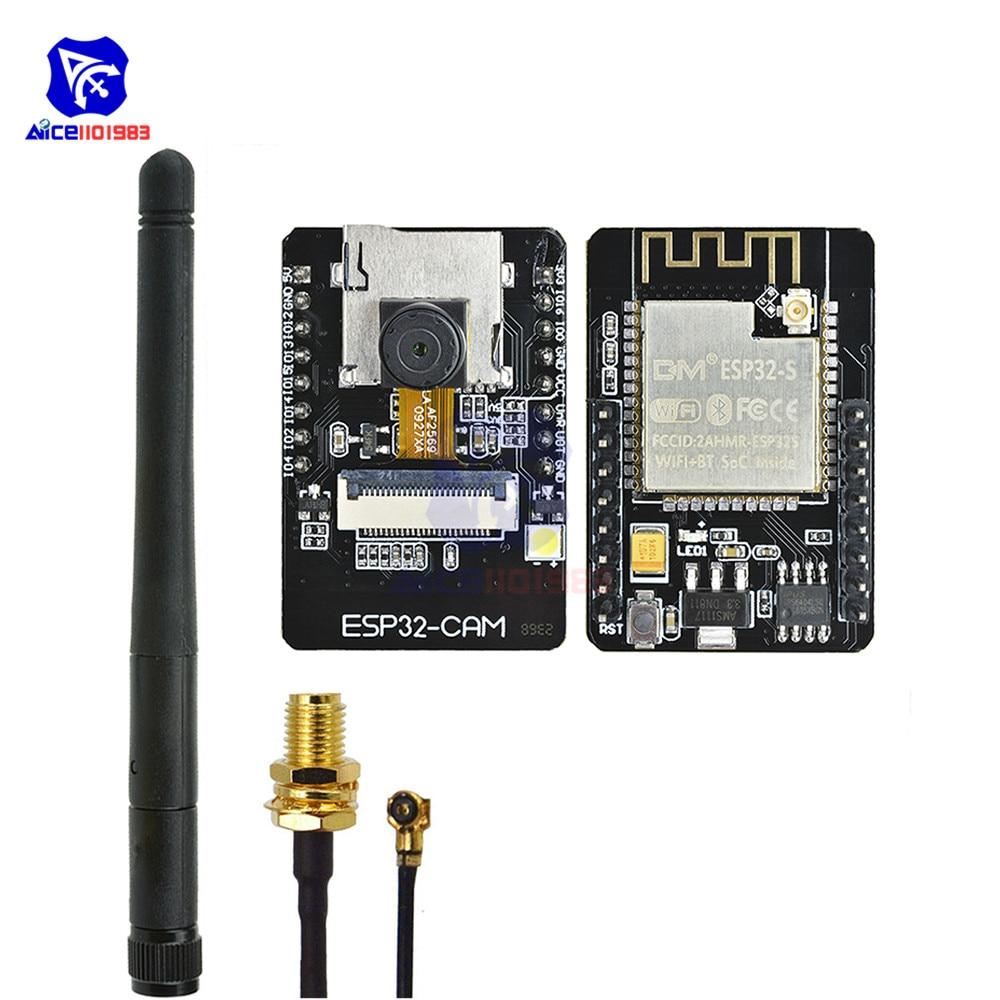 ESP32-CAM ESP32-S WI-FI плата Bluetooth OV2640 2MP Беспров