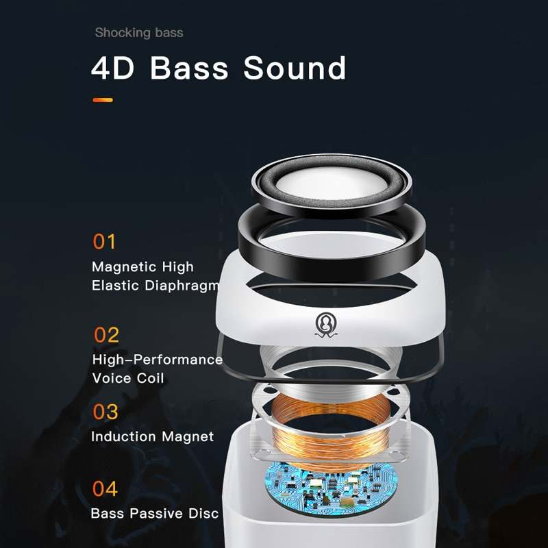 USB Computer Speaker for Laptop PC Subwoofer Wired Music Player Audio Speakers Deep Bass Sound Loudspeaker Not Bluetooth Speaker enlarge