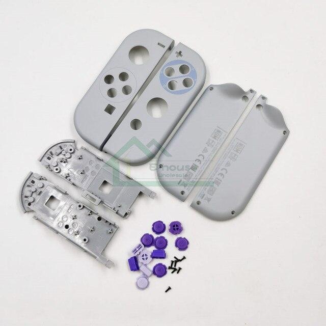 5 комплектов, сменный корпус, чехол для SNES SFC limited Editor для Nintendo Switch Joy Con Joy con для ремонта регулятора