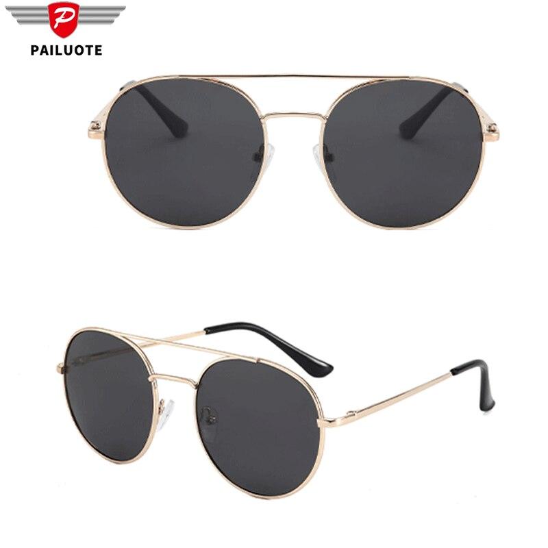 Мужские поляризованные солнцезащитные очки, круглые крутые классические черные брендовые дизайнерские очки 3 цветов, мужские солнцезащитн...