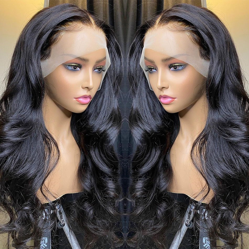 13x6 Body Wave Lace Front Wig Human Hair Wigs For Women Brazilian Full Hd 30 32 34 Inch 13x4 Closure Loose Wave Lace Frontal Wig