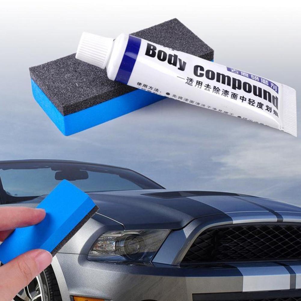 30ml Auto Car Body Paint Scratch Remover Polishing Repair Compound Sponge Brush автомобильные товары Paint Dent Repair Tool