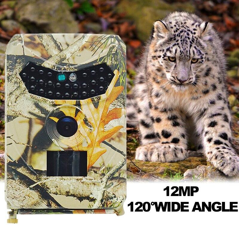 Infravermelho ip56 à prova dwaterproof água PR-200/PR-100 caça câmera 12mp 1080 p trail câmera digital visão noturna ao ar livre foto armadilhas câmeras