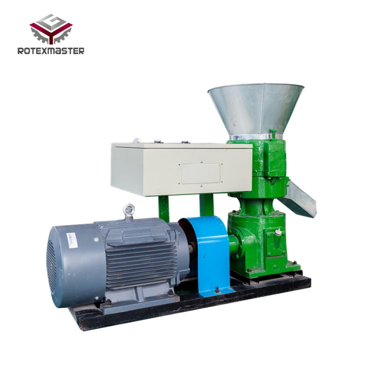 Máquina de pellets de alimentación Animal plana