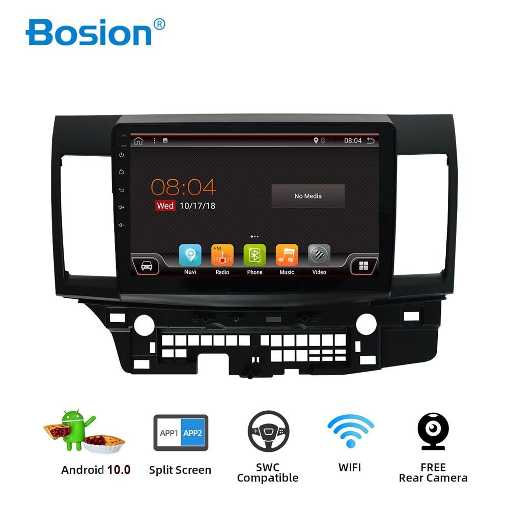 Leitor de vídeo do rádio do ruído 3g/4g gps com capacitivo 10.0-10.1 9 x dvd do carro de bosion android 2007 para mitsubishi lancer 2018 polegadas 2