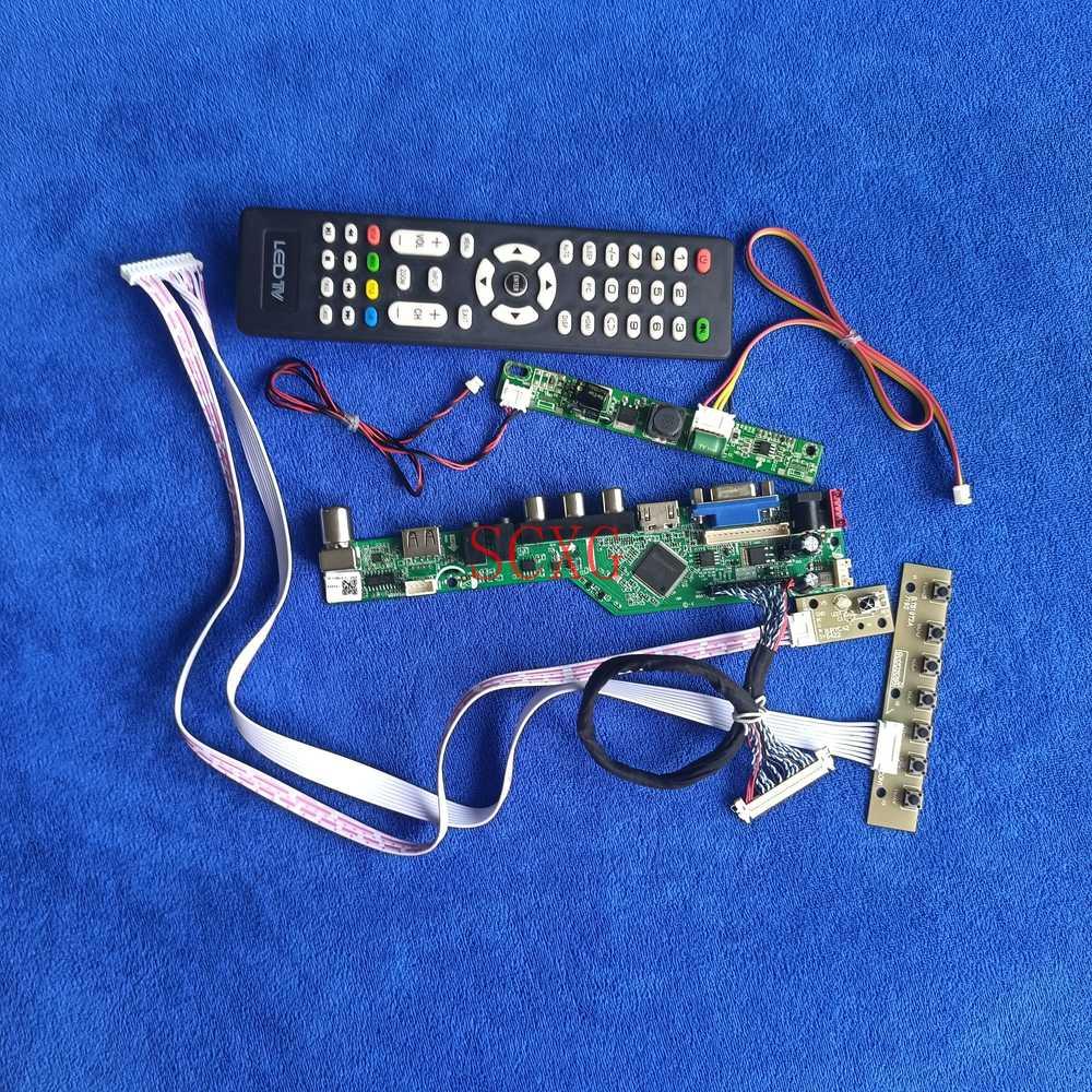 VGA USB AV HDMI-متوافق مع عدة صالح LM230WF7/LM230WF8/LM230WF9/LM230WFA 1920*1080 مصفوفة تحكم مجلس LVDS 30 دبوس LED التناظرية