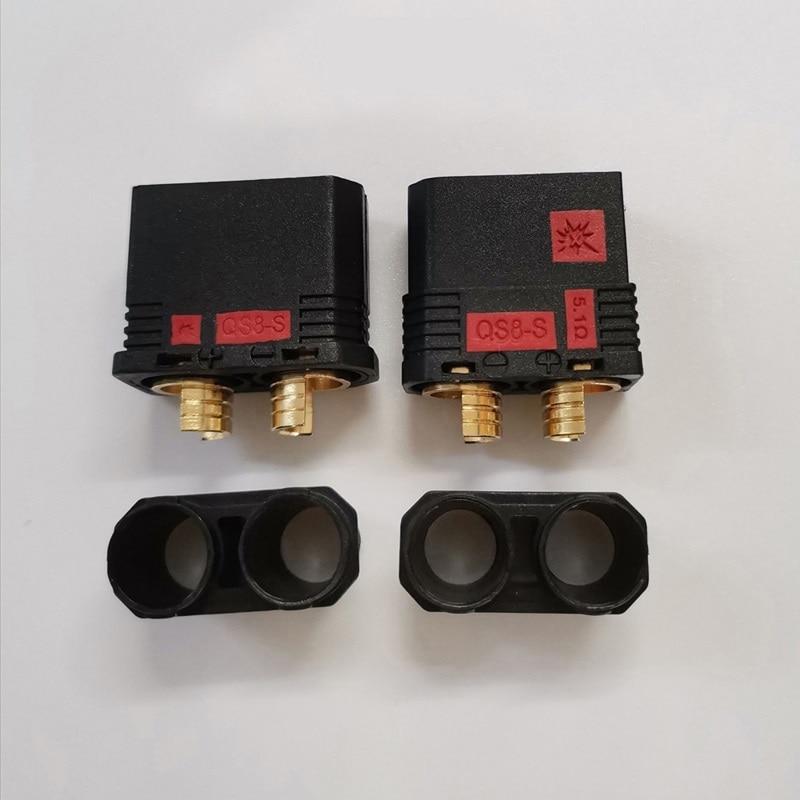 QS8-S grande para Dron teledirigido, 5 pares, conector de batería resistente, antichippa,...