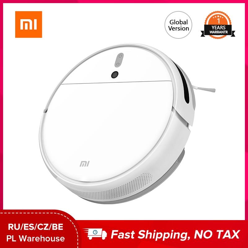 Xiaomi Mijia 1C Staubsauger roboter Globale Version Cordless Sterilisieren Smart Appliance Fegt Wischen Harte Böden Teppich Sauber