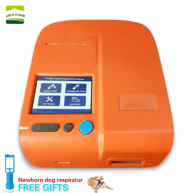 Dog Portable Progesterone Tester Canine Estrus Vet Progesterone Analyzer Dog Breeding  Farm Veterinary Equipment Kennel 2020 Hot