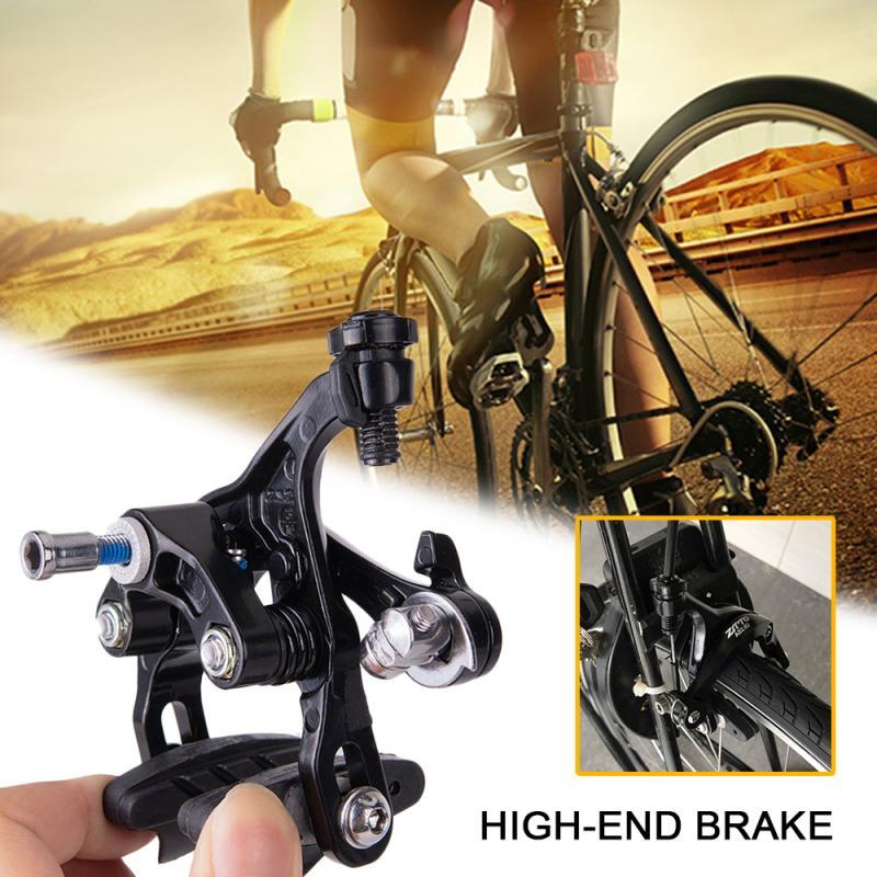 ZTTO 1 par de pinzas de freno de doble pivote de bicicleta de carretera MTB abrazadera de freno trasero delantero de aluminio manijas de embrague