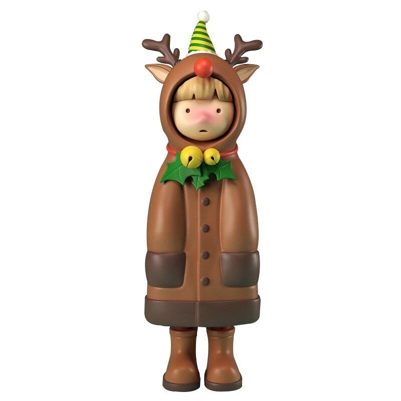 Blind Box Figure Toys Adorable Rabbit Dear Series 9 Style Random Kawaii Surprise Anime Model Garage Kit Christmas Doll 8Pcs/Set