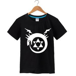 High-Q Unisex Fullmetal Alchemist Cotton T-Shirt Tee Shirt