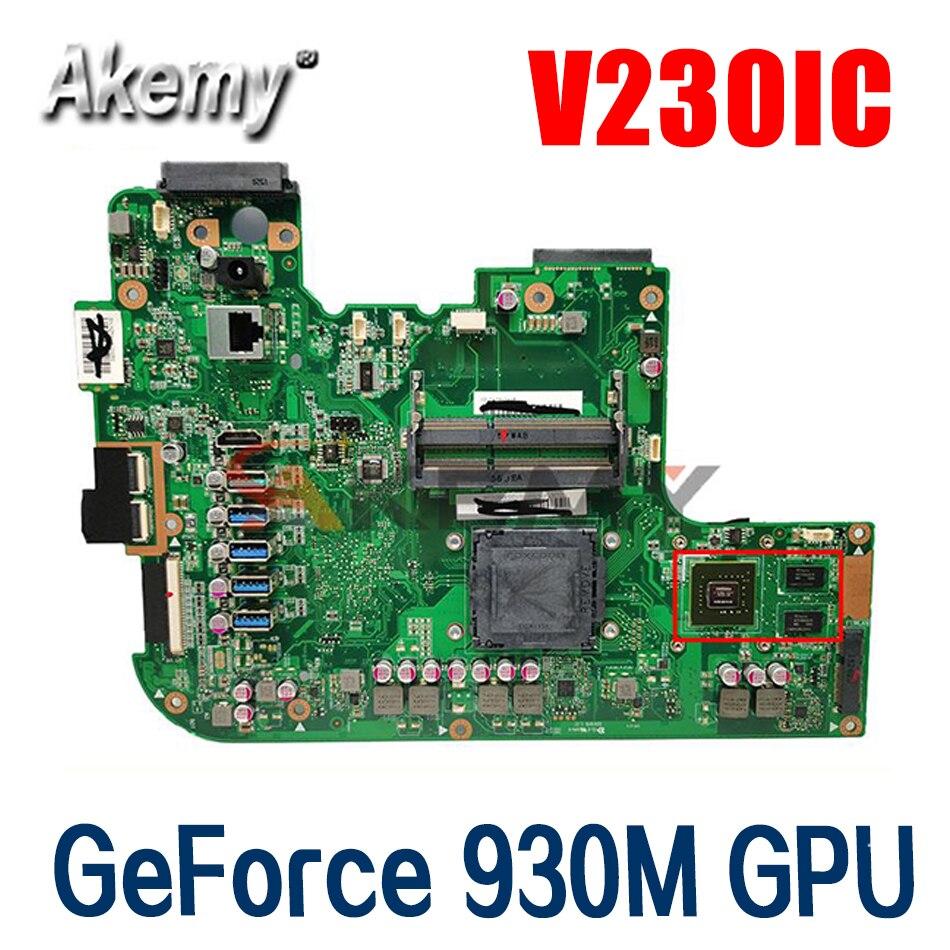 90PT01G0-R04000 V230IC الكل في واحد اللوحة الأم ل ASUS V230 V230ICGK-BC206X اللوحة الرئيسية الأصلية على متن DDR4 GeForce 930 متر وحدة معالجة الرسومات