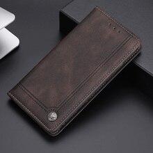 Coque de protection en cuir pour Xiaomi, étui portefeuille de luxe, support Capa pour Redmi 9A, 9AT