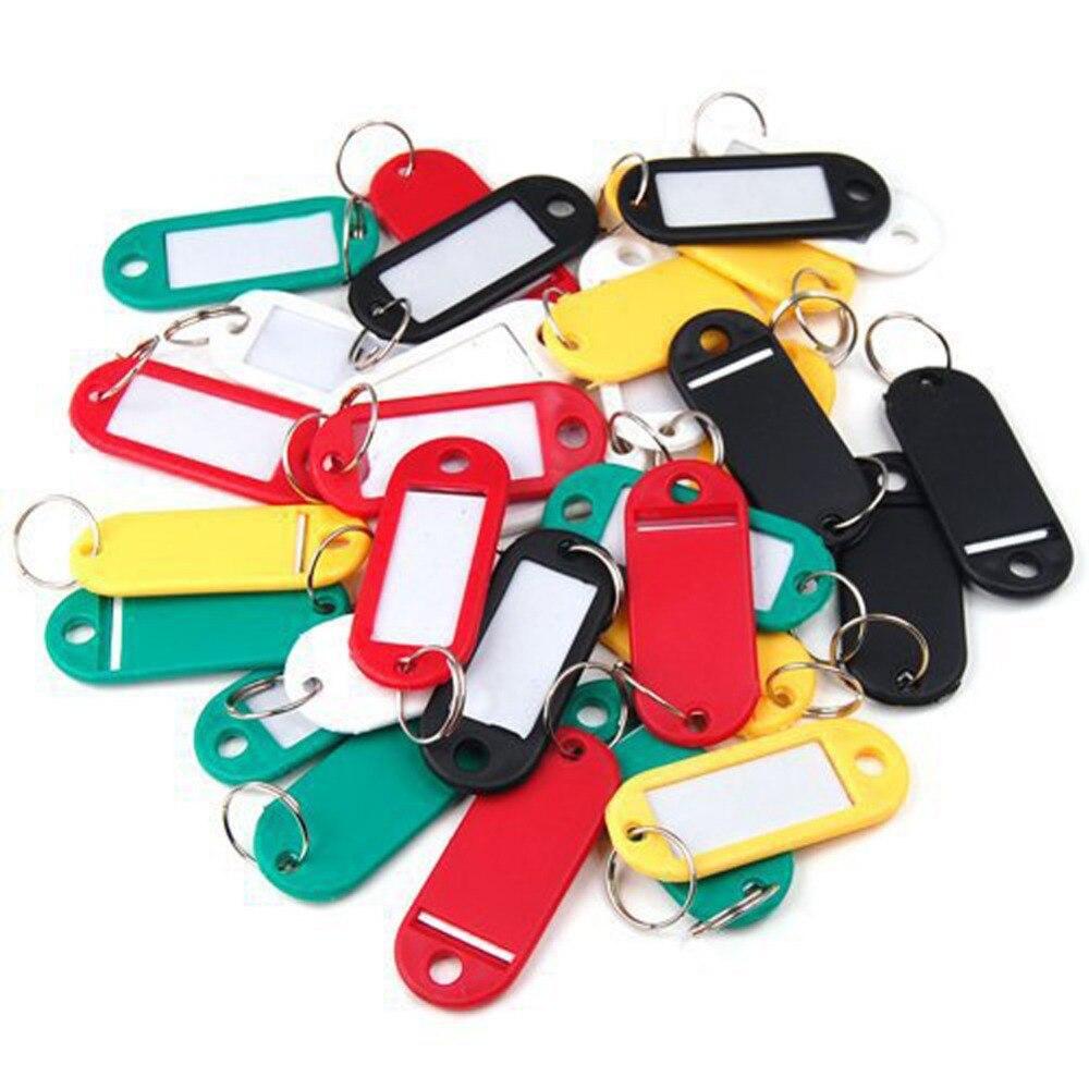 2020 New Fashion Plastic Key Card Bag Tag Keychain Token Card Accessories The Luggage Tag Key Card Color Random