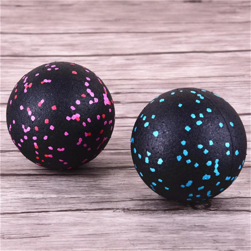 Bola de massagem de alta densidade leve, massagem corporal fitness de fáscia, yoga, exercícios, alívio de dor, bola de massagem de 8cm