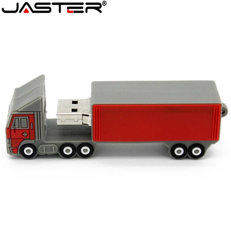JASTER-Unidad flash USB 2,0 para camión, pendrive de 4GB, 8GB, 16GB, 32GB...