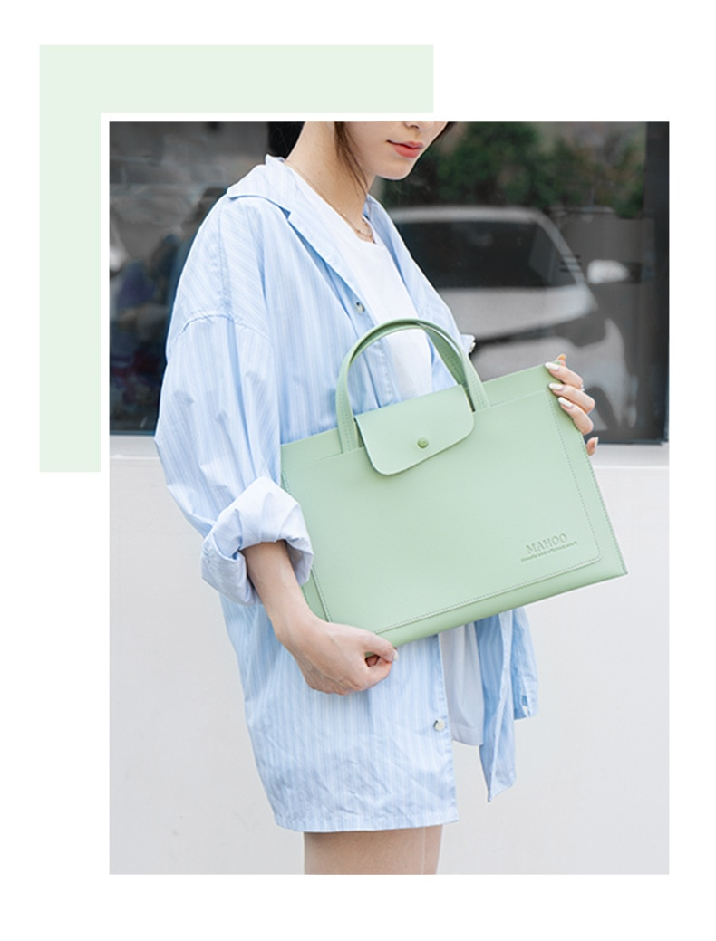 13.3 inch laptop bag thin and light briefcase 15.6 ultra light computer liner bag 14 inch fashion woman handbag simple and light