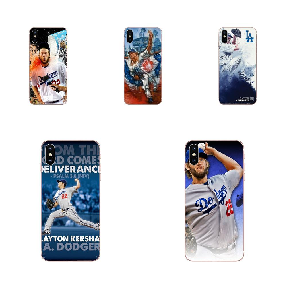La cubierta del TPU del Clayton Kershaw de béisbol Original para HTC deseo 530, 626, 628, 630, 816, 820, 830 A9 M7 M8 M9 M10 E9 U11 U12 la vida además de
