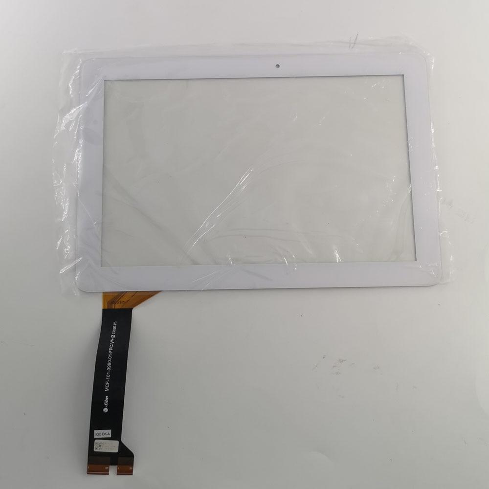 Piezas usadas touch panel de cristal para pantalla externa pantalla para Asus MeMO Pad 10 ME102K ME103K K01E MCF-101-1856-01-FPC-V1.0