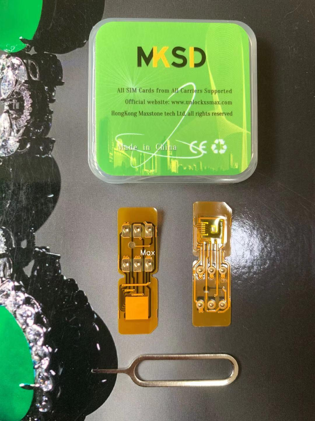 100pcs New MKSD4 gold SIM ICCID+MNC Auto Perfectly unlock Card for IOS 13.4 iPhone1112 PRO MAX XS  XR JAPAN AFRICA KOREA UK US enlarge