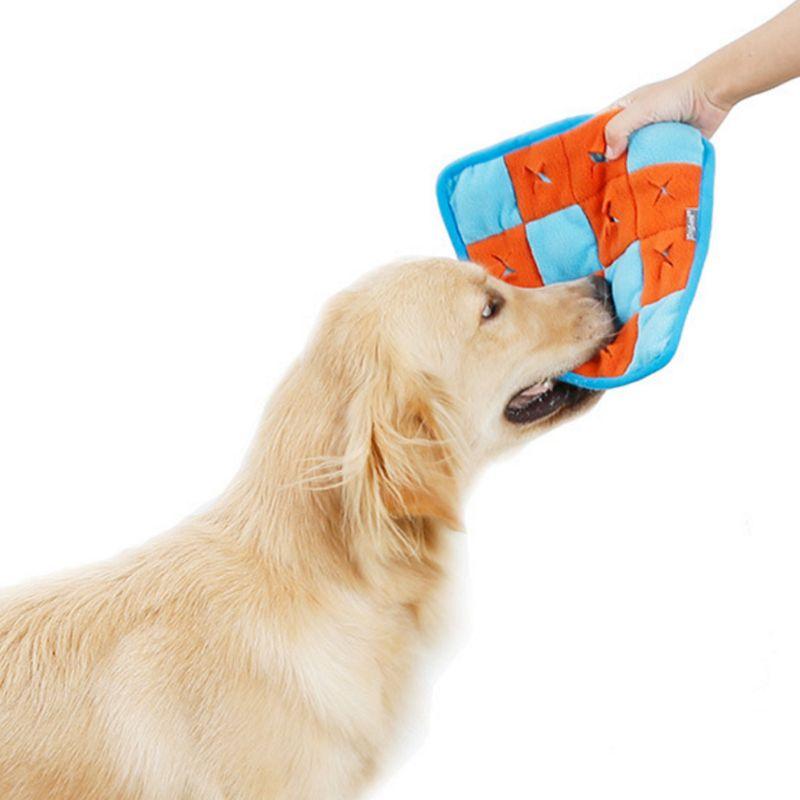 Alfombra olfateadora para perros y mascotas, manta de entrenamiento para encontrar comida, Alfombra de puzle para perros, juguetes C63B
