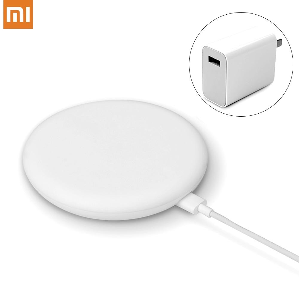 Original Xiaomi cargador inalámbrico Qi rápido carga 20W MAX para Mi 9 MIX 2S 3 Qi EPP10W para iPhone XS XR XS MAX para Samsung 5W
