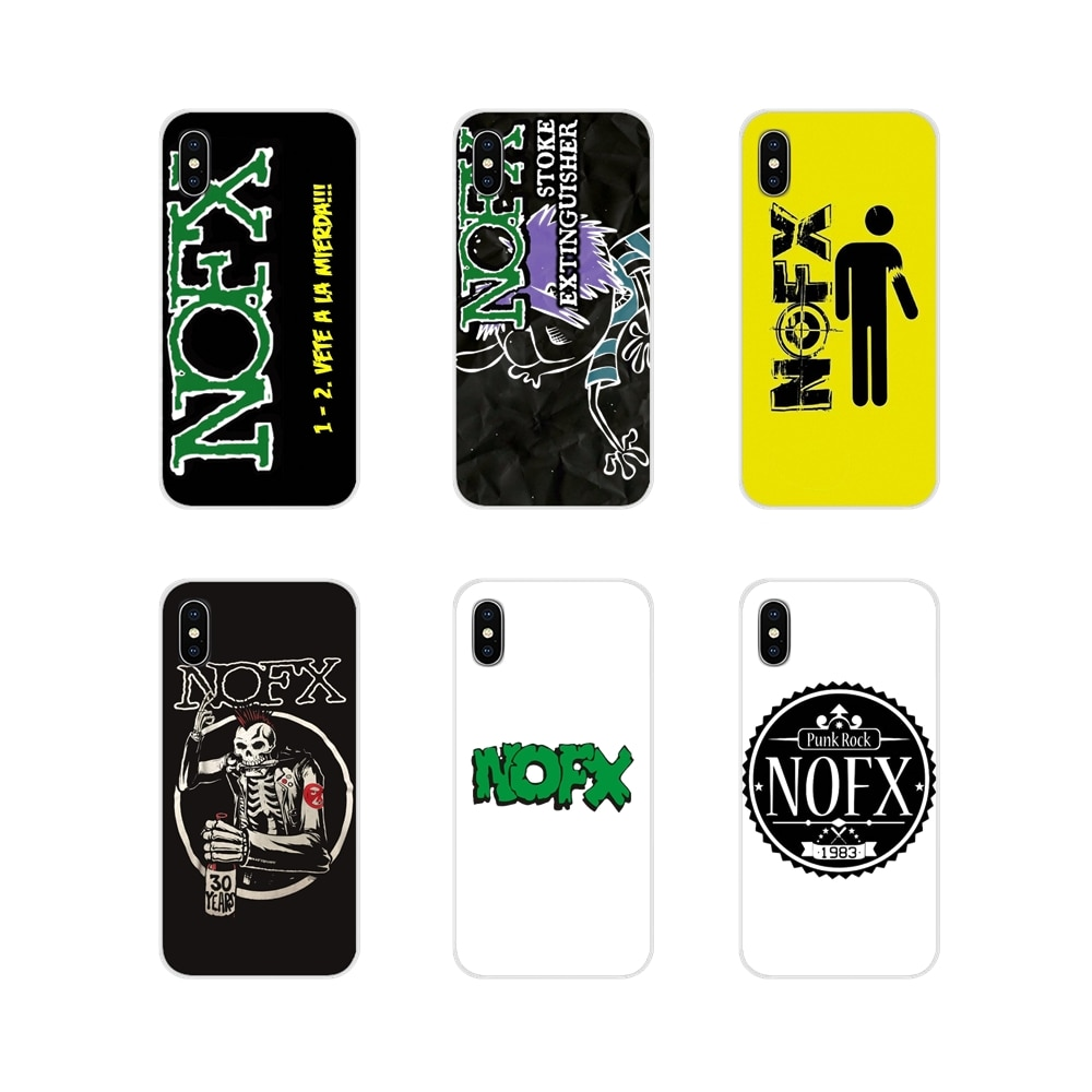 NOFX gran álbum Punk Rock suave transparente para LG G3 G4 Mini G5 G6 G7 Q6 Q7 Q8 Q9 V10 V20 V30 X Power 2 3 K10 K4 K8 2017