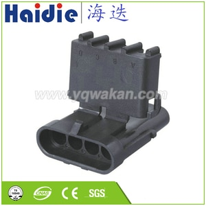 Free shipping 5sets 4pin Auto Electri  waterproof  harness Electric  cable connector  12010794