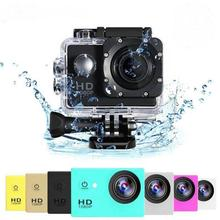 Full HD Action Camera HD Extreme Sport Camera Waterproof Camera Beginner Level 2.0 Inch Sports Actio