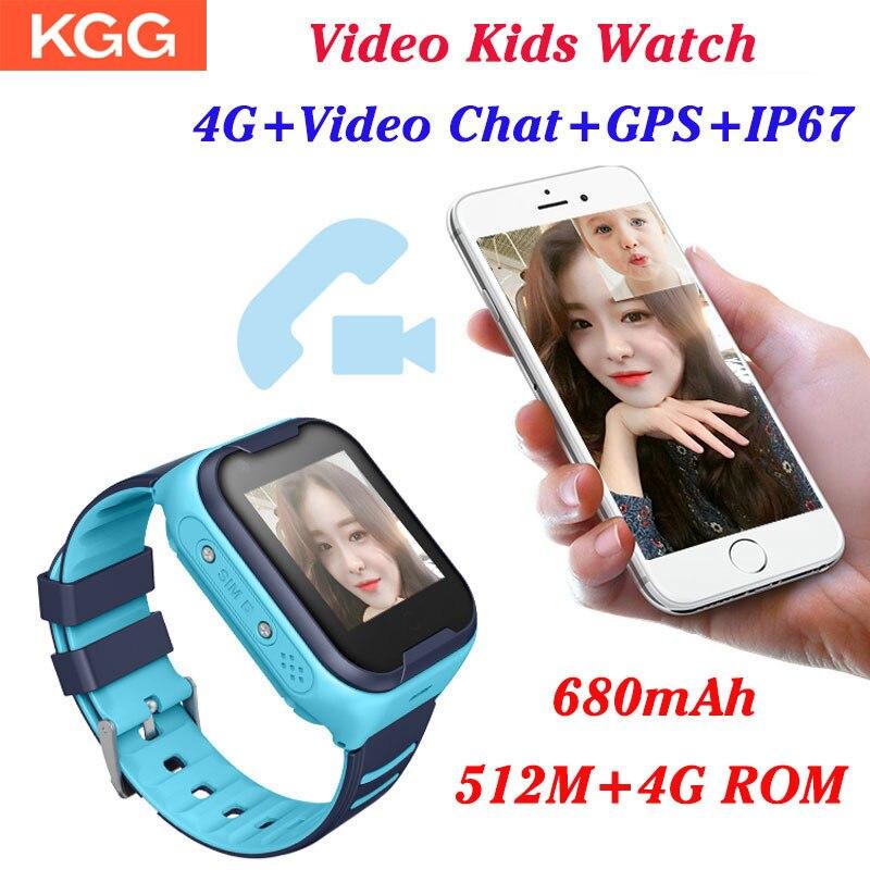 4G Wifi GPS niños Smart Watch Tracker niño niños GPS reloj teléfono Digital SOS alarma reloj Cámara teléfono reloj para niños PK Q90