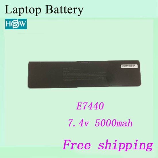 Горячая Распродажа E7440 Аккумулятор для ноутбука для DELL Latitude 14 7000 Series-E7440 T19VW PFXCR батареи Бесплатная доставка