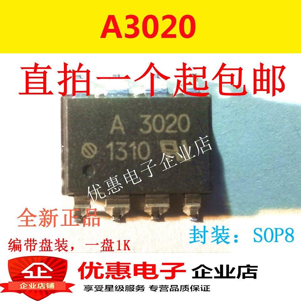10 Uds Original HCPL-3020 A3020 SOP-8 nuevo HCPL-3020V A3020V
