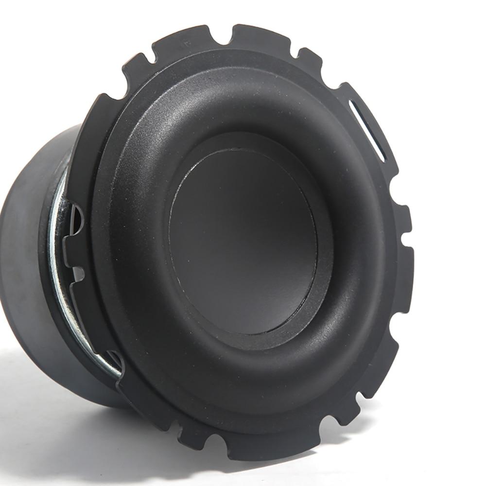 4.5Inch Mid-Bass Large Rubber Loudspeaker Composite Aluminum Basin Speaker 4ohm 50W Full-range Unbeatable DIY Home Theater  Horn enlarge