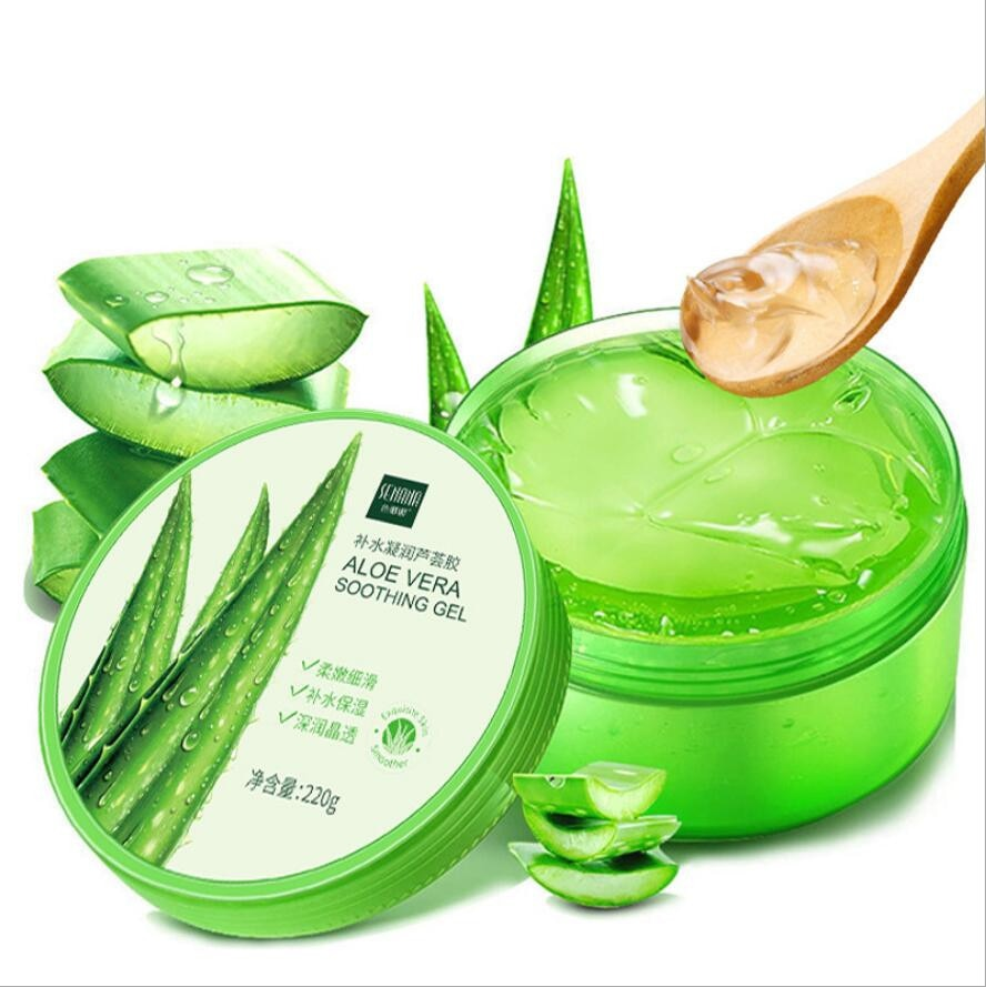 Aloe Vera Gel Natural Face Creams Moisturizer Acne Treatment Gel for Skin Repairing Natural Beauty Products Free shipping