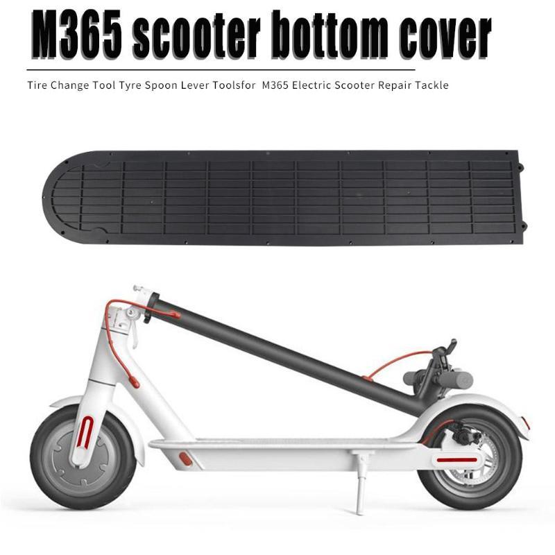 Tapa de compartimento de batería de plástico placa inferior para XIAOMI MIJIA M365 pieza Scooter Eléctrico repuestos impermeable