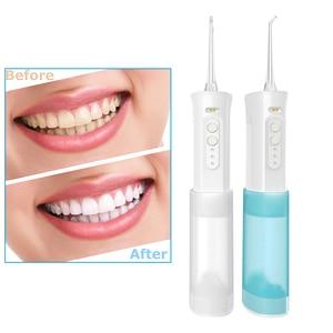 USB Перезаряжаемый водяной струйный очиститель зубов, портативный очиститель зубов, водная зубная нить, Электрический скалер Calculu средства для удаления зубного камня