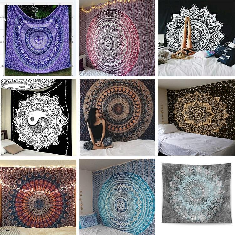 Tapisserie Mandala série impression maison tapisserie tenture murale serviette de plage couverture de plage