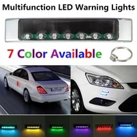 led car light super bright colorful car door anti static lights auto smart solar decorate warning lights for car accessories