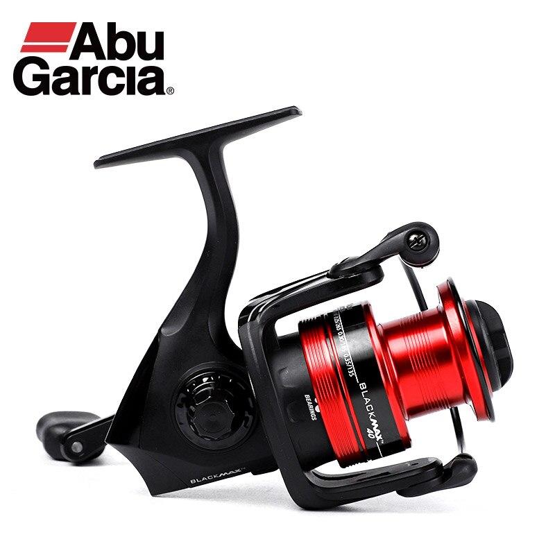 ABU GARCIA-carrete de pesca giratorio, Original, negro MAX, 1000-6000, 3 + 1BB,...