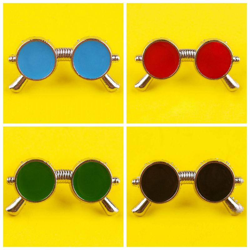 Sunglasses Brooch Pin Badge On Clothes Cute Funny Brooch Childs Brooch Jewelry Gift Backpack Clothin