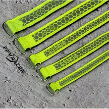 2PCS FPVRACER Kevlar Suture & Polyester 300D RC Battery Strap Metal Buckle for FPV Racing Freestyle