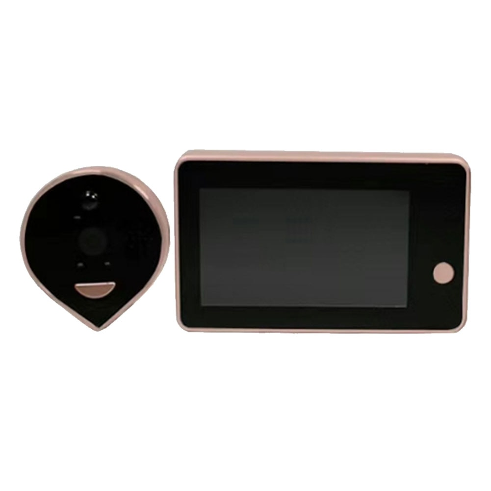 Door Peephole Viewer Wifi Video Doorbell Camera Night Vision PIR Motion Detection Smart Home APP Mobile Remote Control