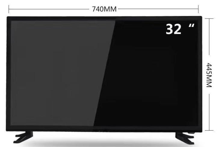32 cal monitory lcd android wifi led z bluetooth telewizja telewizja
