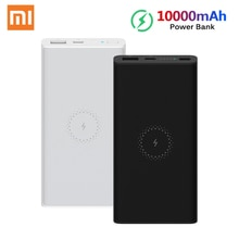 Xiaomi Draadloze Power Bank Jeugd Versie 10000 Mah 10W Qi Draadloze Quick Charge 18W Usb Snel Opladen Draagbare oplader Powerbank