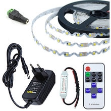 Taśma LED S kształt SMD 2835 DC12V 5M 300LED elastyczna taśma LED podświetlenie listy kanałów światło reklamowe DC 12V + pilot Contro