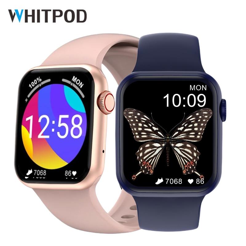 Original 44mm Smart Watch 320*385 ScreenWireless Charging Bluetooth Call 2021 Men Women Smartwatch S