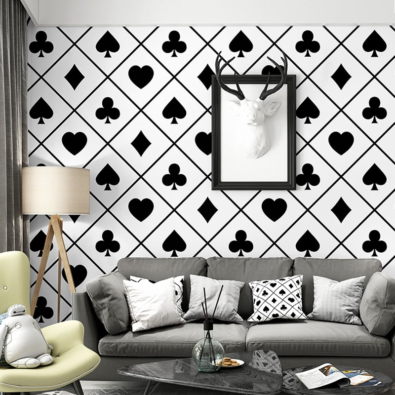 beibehang papel de parede 3D Black and white geometric wall paper roll Wall covering Square wallpaper for walls 3 d Living room beibehang papel de parede 3d warm bedroom non woven wall paper three dimensional rural wallpaper for walls 3 d wall paper