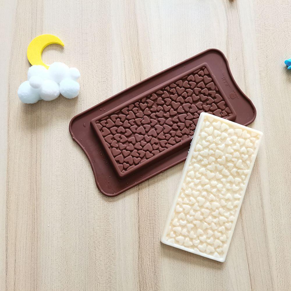Новая силиконовая форма для шоколада, маленькие инструменты для выпечки в форме сердца, антипригарная силиконовая форма для торта, желейны...