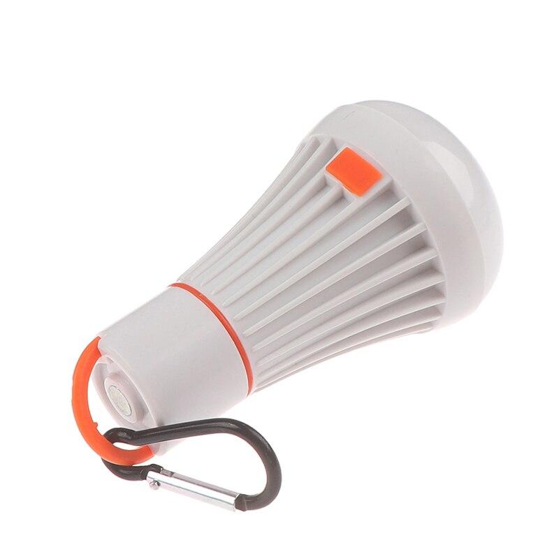 Linterna portátil para tienda de campaña, linterna, linterna LED colgante, lámpara de iluminación para tareas, linterna LED de 4 modos ABS 6LED 3W